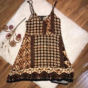 NWOT F21 beautiful tribal pattern cami tunic